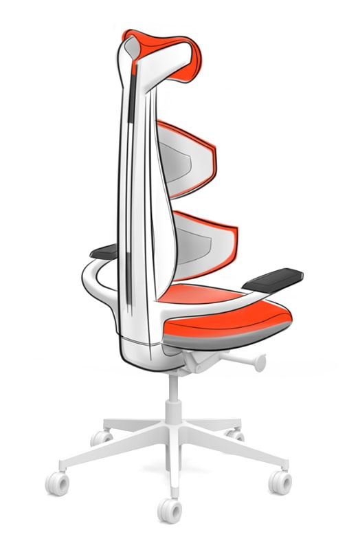 muuv chair ideation sketch