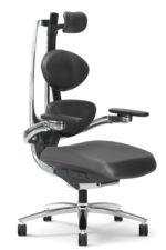 Muuv chair black angle