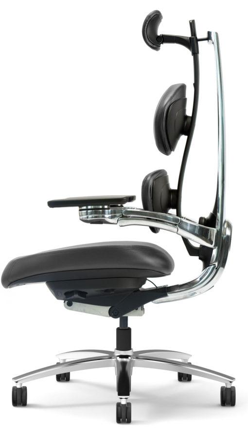 Muuv chair black side
