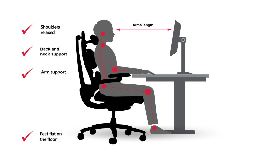 Healthy Tips From Your Posture Coach – Setting Up Your Workstation